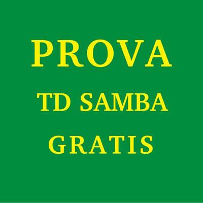 prova td samba gratis